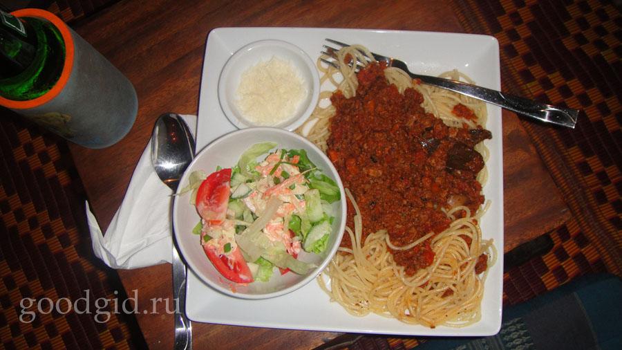 итальянская кухня, спагетти