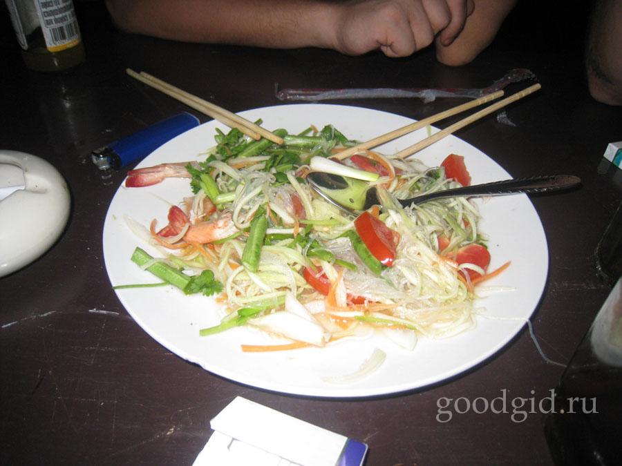 тайская лапша