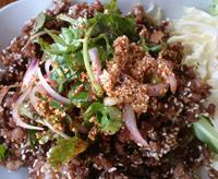 Салат с фаршем из свинины