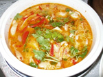 Суп Tom Yum с курицей