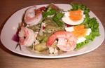 Тайский салат с пикантными баклажанами