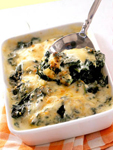 шпинат запеченый в сыре