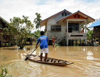 Наводнение на юге Тайланда.