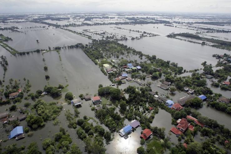Бангкок наводнение 2011