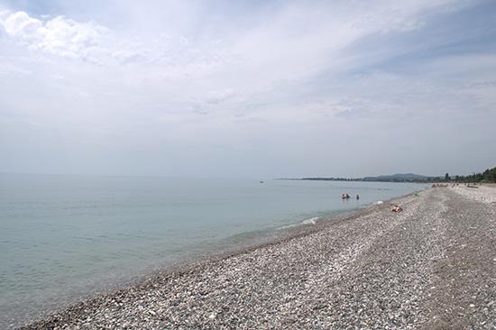 пляж пицунда