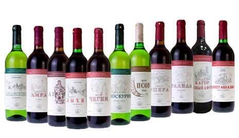 вино абхазии