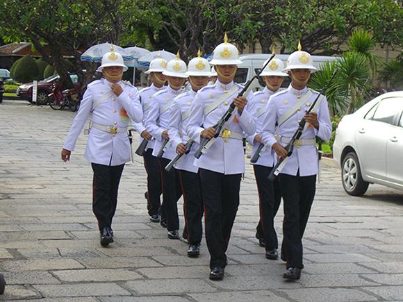 королевская гвардия таиланда