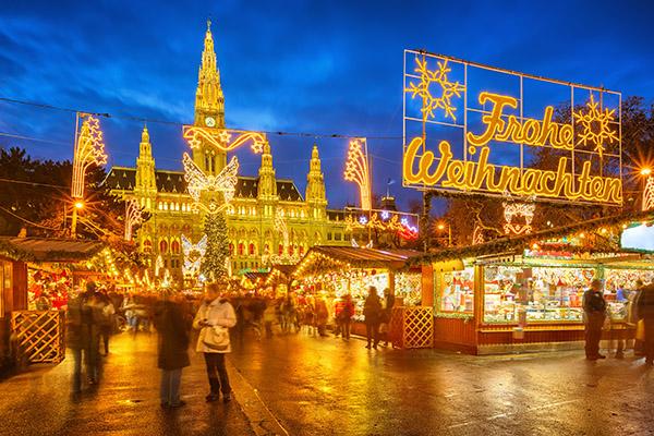 рождественская ярмарка в Европе