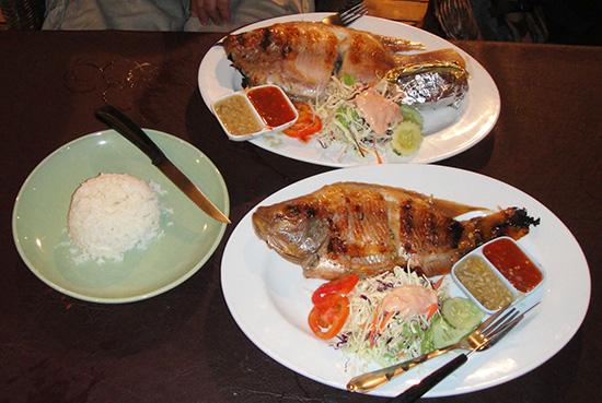 морепродукты тайланда