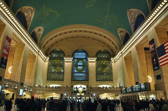 нью-йорк фото, центральный вокзал
