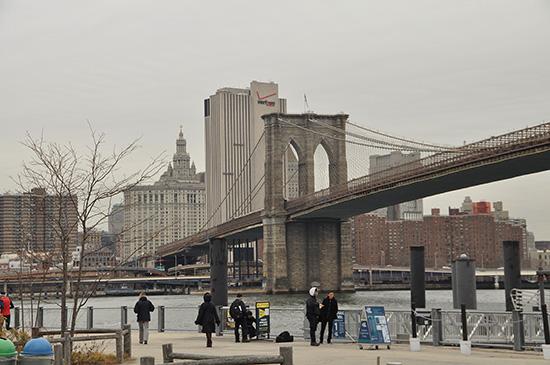нью-йорк фото, бруклинский мост