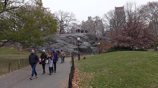 нью-йорк фото, центральный парк