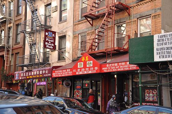 нью-йорк фото, china town
