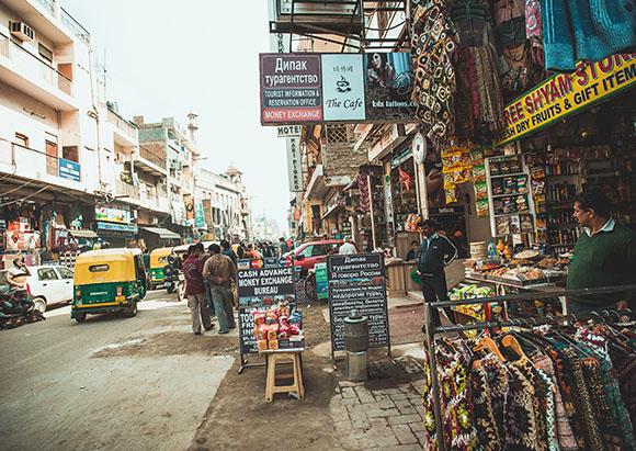Main bazar в Дели