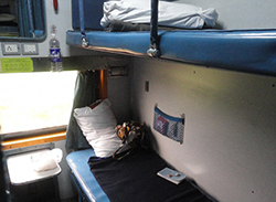 Поездка на поезде из Дели в Гоа